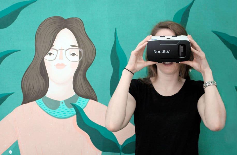 Virtual Reality Brille bei Optik Neuroth