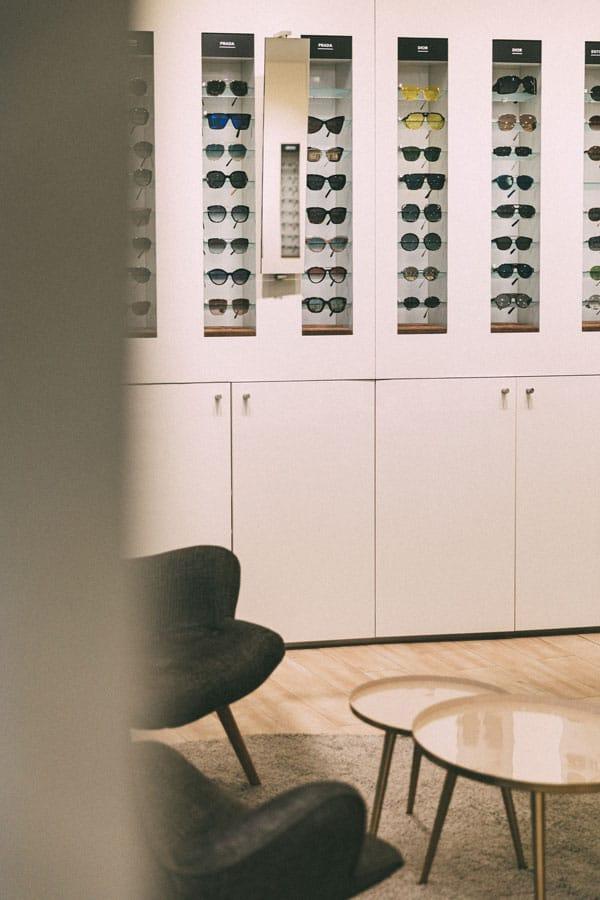 Innenansicht Optik Neuroth Graz