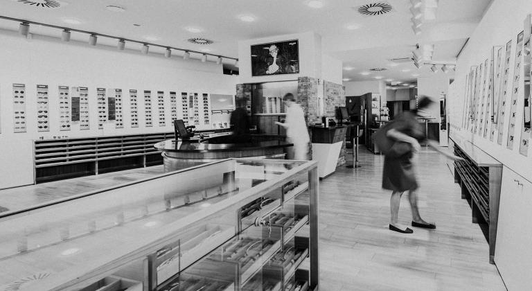 Shop von Optik Neuroth in Graz