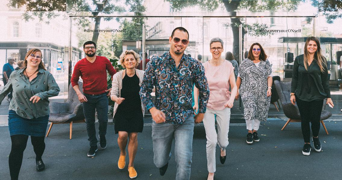 Optiker-Team von Optik Neuroth in Graz